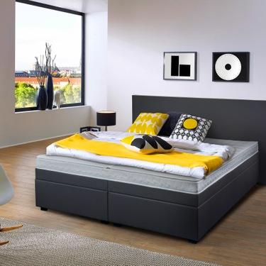Wa'Core waterbedden Boxspring-look waterbed Senzano